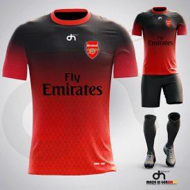 Arsenal 2020 Dijital Halı Saha Forma 2