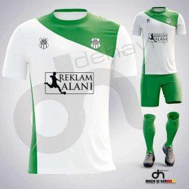 Pirate Beyaz-Yeşil Dijital Halı Saha Forma