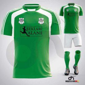 Zed Yeşil-Beyaz Dijital Halı Saha Forma