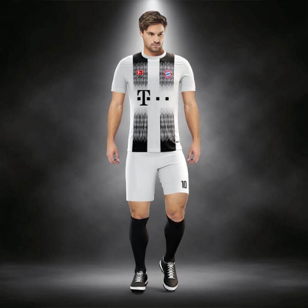 Bayern Munih Siyah Dijital Halı Saha Forma