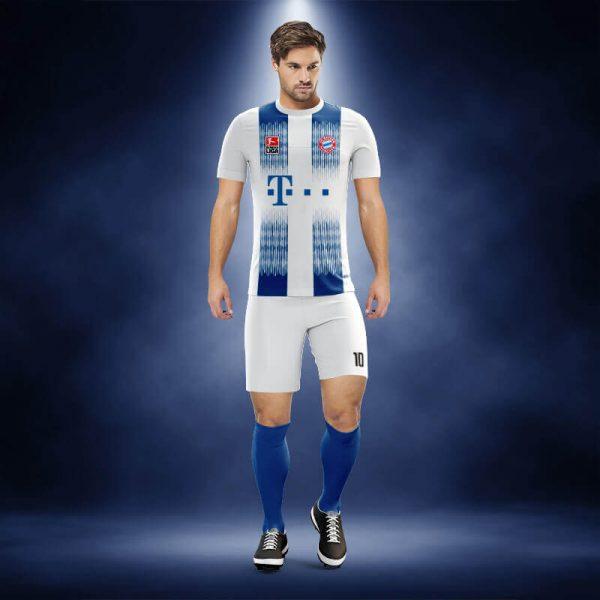 Bayern Munih Sax Dijital Halı Saha Forma
